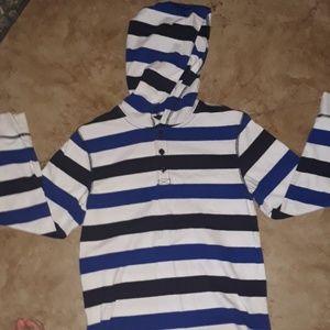 Gymboree boys long sleeve summer hoodie
